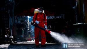 [VIDEO] Operasi sanitasi sekitar KL oleh anggota bomba
