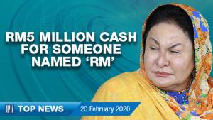 "[WATCH] TMI Top News: Cash worth RM5 million for someone named ""RM"", Najib's RM1.69 billion lawsuit trial to get new prosecutor"