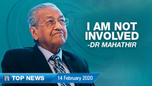 [WATCH] TMI Top News: Mahathir not involved in opposition's move; Malaysia handling outbreak effectively