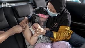 [VIDEO] Pandu lalu vaksin untuk OKU