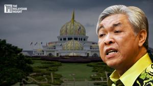 [VIDEO] Buka Parlimen dalam masa 14 hari, jangan derhaka titah Agong - kata Zahid