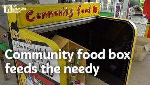 [WATCH] Malaysia's first community food box is feeding the needy