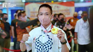 [VIDEO] Don't hold yourself back from pursuing sports, says Paralympics gold medalist Cheah Liek Hou