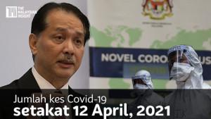 [VIDEO] Kes Covid-19 12 April, 2021   1,317 kes baharu, 4 kematian