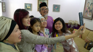 [WATCH] Making the best of Raya, but being away from older family members is tough