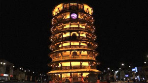[WATCH] Malaysia's own leaning tower in Teluk Intan draws visitors