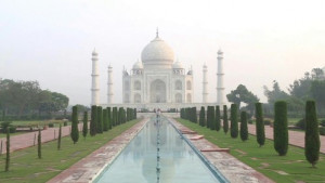 [WATCH] Taj Mahal reopens as Covid-19 cases soar in India