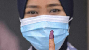 [WATCH] Early Sabah voting turnout at 76%