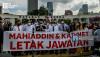 [VIDEO] Selepas dihalang masuk Parlimen, pembangkang berhimpun di Dataran Merdeka